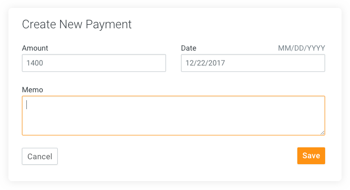Track payments directly through Legal Billing.