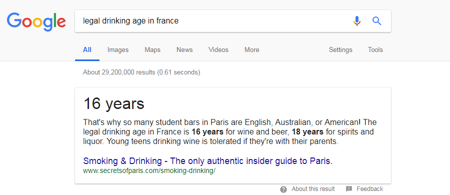 google-instant-answer