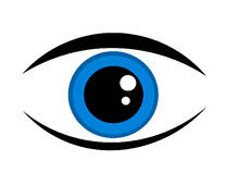 An eye - a symbol of the need for vigilance
